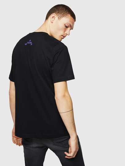 Diesel - T-JUST-A12, Noir - T-Shirts - Image 2