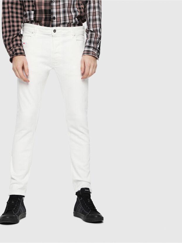 Krooley JoggJeans 088AZ, Blanc - Jeans