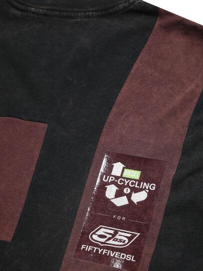 Diesel - D-FRANK&STEIN, Rouge/Noir - T-Shirts - Image 6