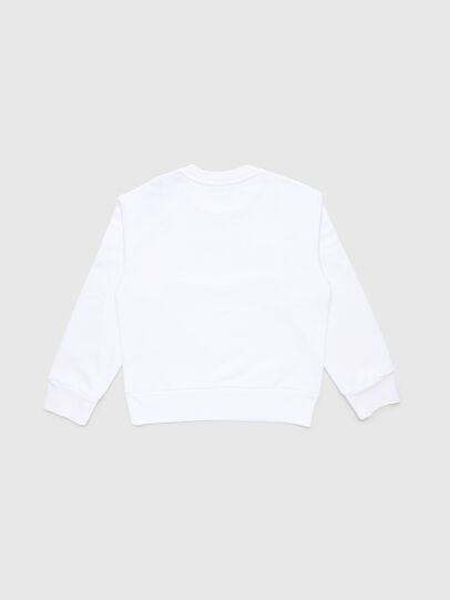 Diesel - SCREWDIVISION-LOGO O, Blanc - Pull Cotton - Image 2