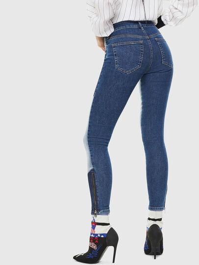 Diesel - Slandy Zip 0890L, Bleu moyen - Jeans - Image 2