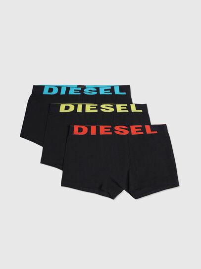 Diesel - UMBX-SHAWNTHREEPACK, Noir Brillant - Boxeurs courts - Image 1