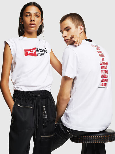 Diesel - LCP-T-DIEGO-CASA, Blanc - T-Shirts - Image 6