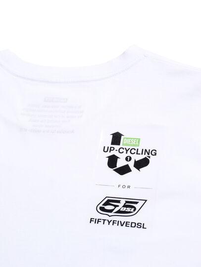 Diesel - D-SHIELD-GREEN, Blanc - T-Shirts - Image 6