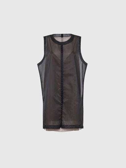 Diesel - D-LAY, Noir - Robes - Image 1