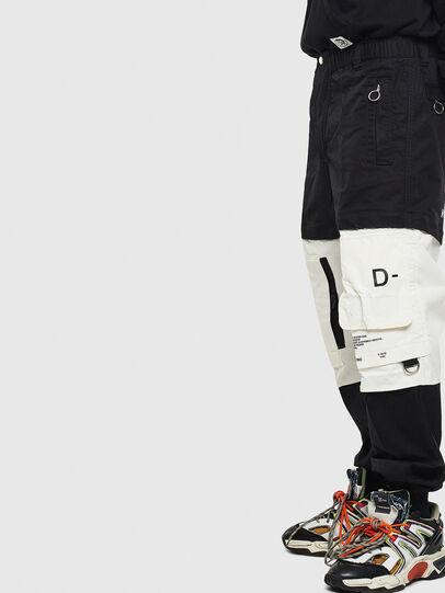 Diesel - P-MELTY, Noir/Blanc - Pantalons - Image 3