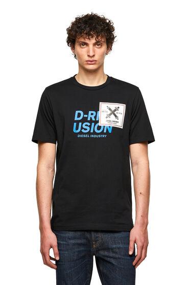 T-shirt avec imprimé Diesel Industry