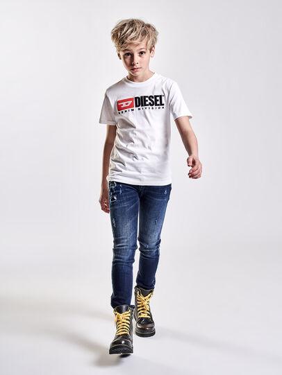 Diesel - TJUSTDIVISION, Blanc - T-shirts et Hauts - Image 3