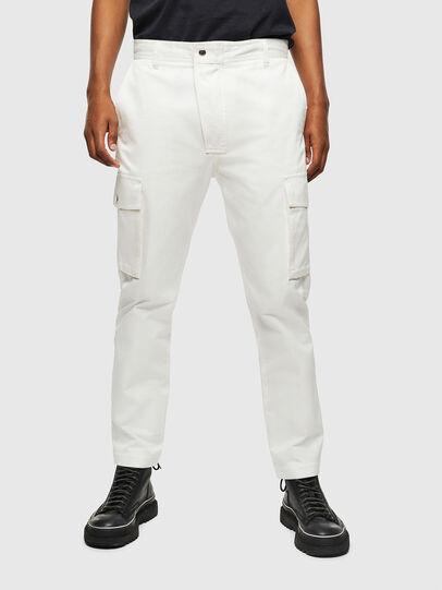 Diesel - P-JARED-CARGO, Blanc - Pantalons - Image 1