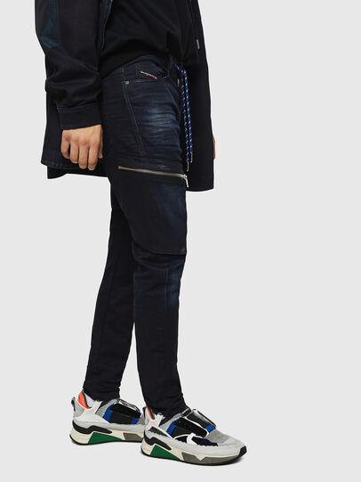 Diesel - D-Vider JoggJeans 069IC, Bleu Foncé - Jeans - Image 5