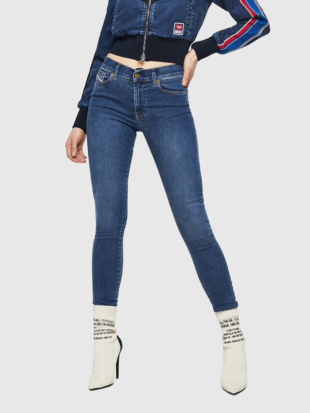 D-Roisin 085AB, Bleu moyen - Jeans
