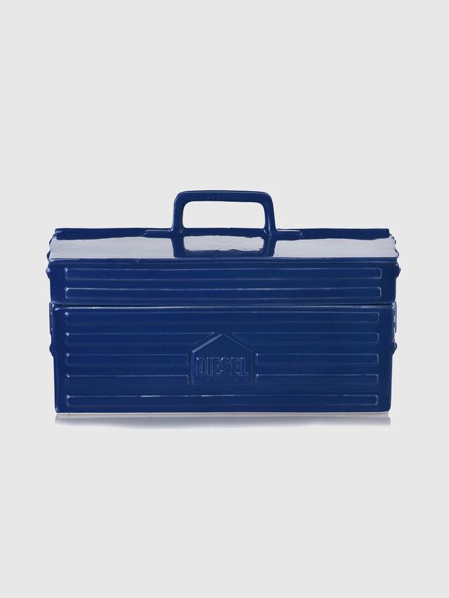 Diesel - 11056 WORK IS OVER, Bleu - Accessoires de Maison - Image 1