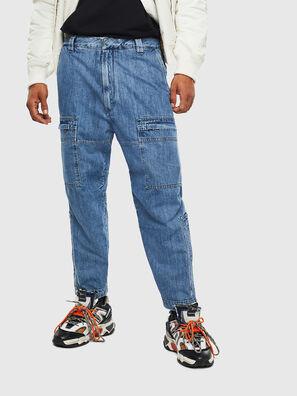 D-Luks 009CL, Bleu Clair - Jeans
