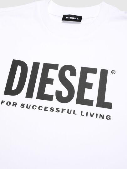 Diesel - TJUSTLOGO, Blanc - T-shirts et Hauts - Image 3
