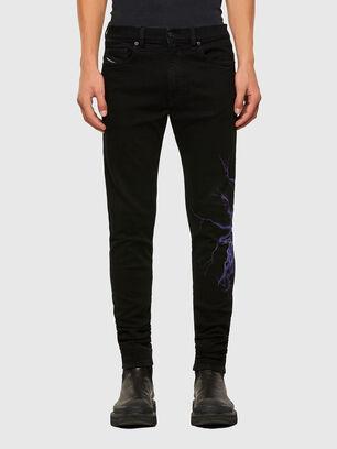 D-Amny 009KR, Noir/Gris foncé - Jeans