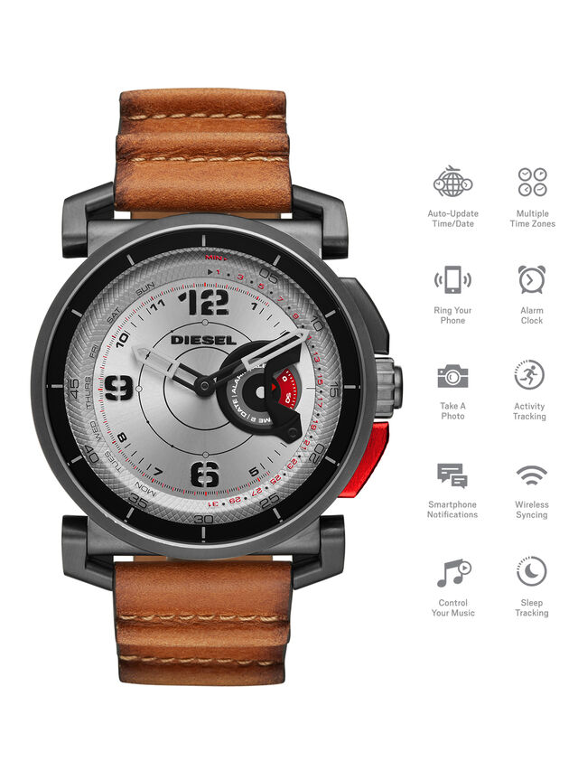 Diesel - DT1002, Marron - Smartwatches - Image 1