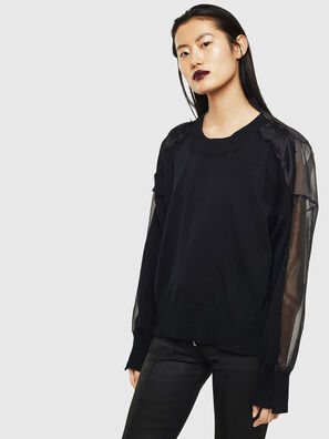 MOLLYS, Noir - Pull Maille