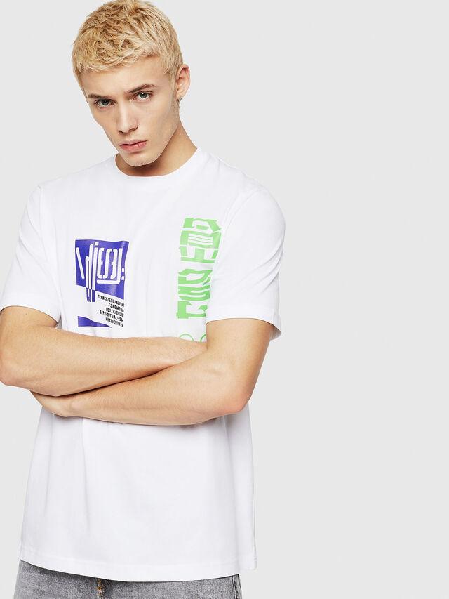 Diesel - T-JUST-Y20, Blanc - T-Shirts - Image 1