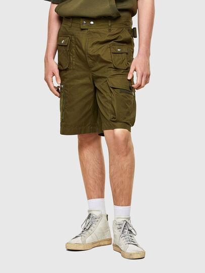 Diesel - P-CYAN-SHORT, Vert Militaire - Shorts - Image 1