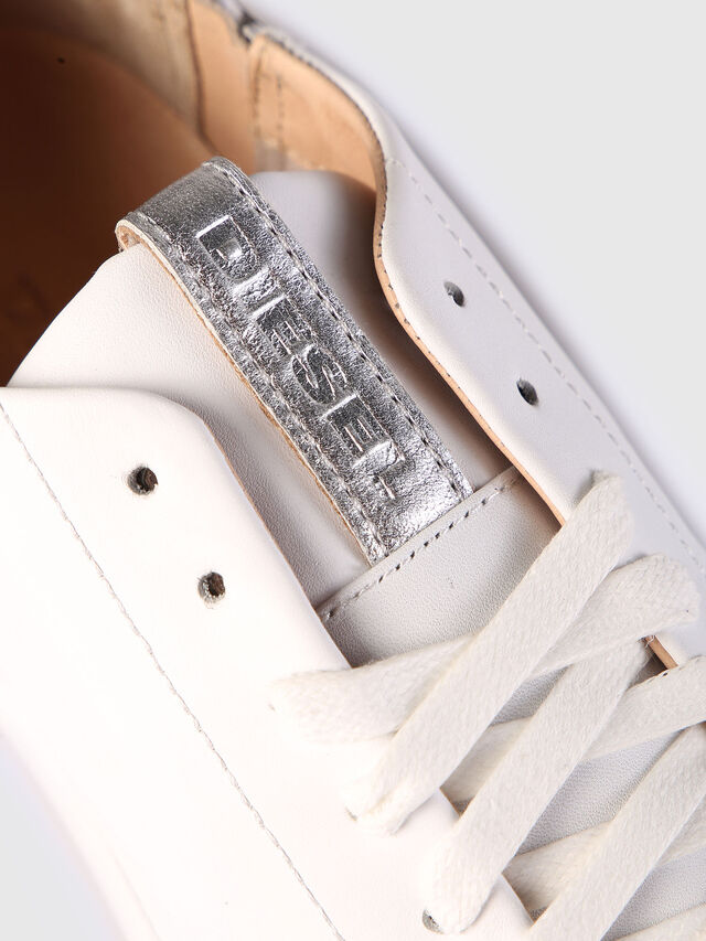 Diesel - S-NENTISH LC W, Blanc - Baskets - Image 4