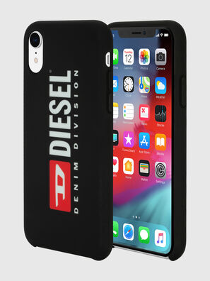 DIESEL PRINTED CO-MOLD CASE FOR IPHONE XR, Noir/Blanc - Coques