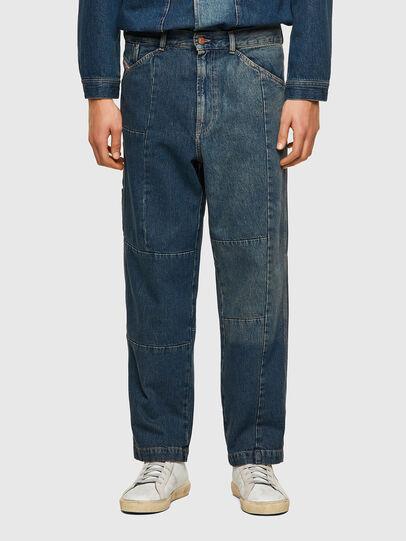 Diesel - D-FRAN-SP, Bleu moyen - Pantalons - Image 1