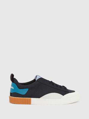 S-BULLY LC, Noir/Bleu - Baskets