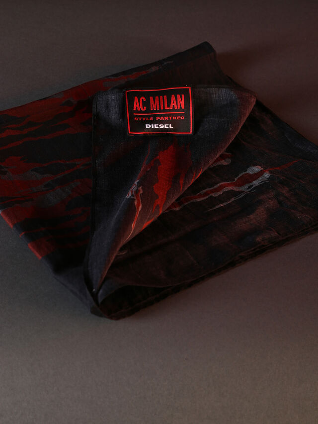 DVL-BANDANA-SPECIAL COLLECTION, Rouge/noir