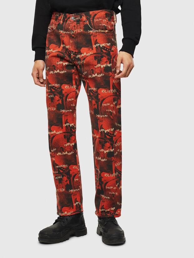 D-Macs 069KR, Rouge - Jeans