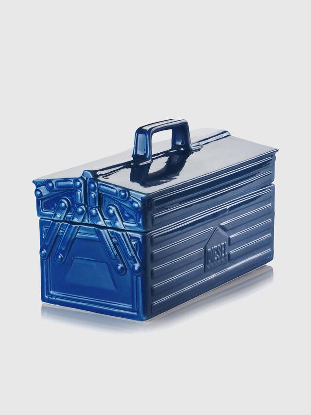 Diesel - 11056 WORK IS OVER, Bleu - Accessoires de Maison - Image 3
