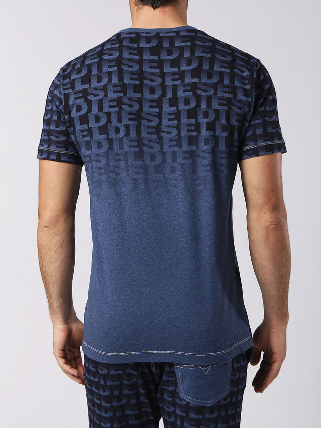 Diesel - UMLT-JAKE, Bleu - T-Shirts - Image 2