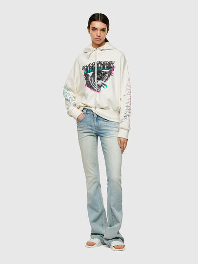 Diesel - F-MAGDALENA-A2, Blanc - Pull Cotton - Image 5