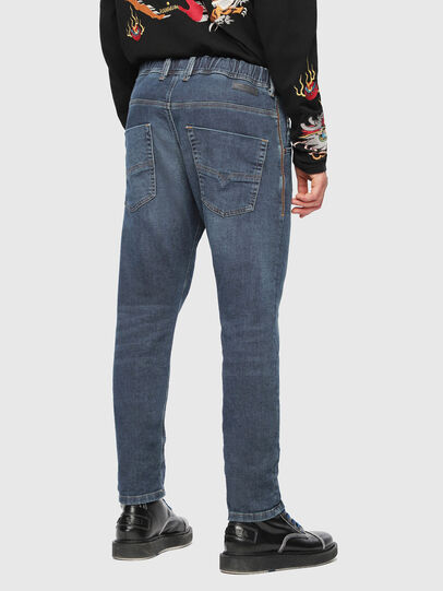 Diesel - Krooley JoggJeans 084UB, Bleu moyen - Jeans - Image 2