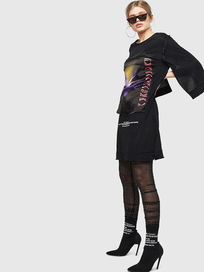 Diesel - D-PAIGEST, Noir - Robes - Image 5