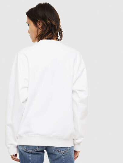Diesel - F-ANG-S2, Blanc - Pull Cotton - Image 2