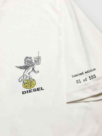 Diesel - VE-T-JUST-LEO, Blanc - T-Shirts - Image 3