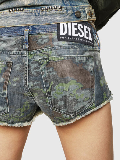 Diesel - DE-MARLEN, Bleu moyen - Shorts - Image 4