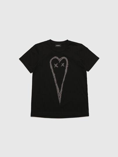 Diesel - TSILYHEART, Noir - T-shirts et Hauts - Image 1