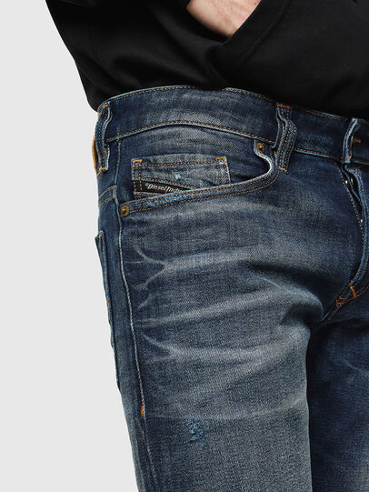 Diesel - Safado 0096U, Bleu Foncé - Jeans - Image 3