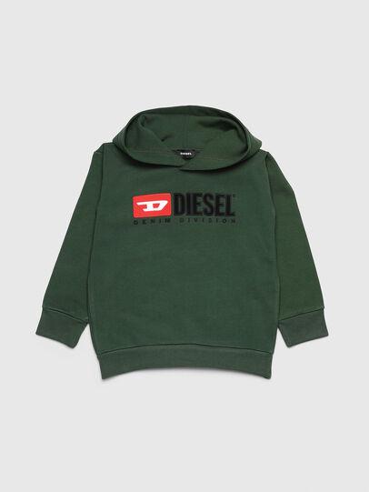 Diesel - SDIVISION OVER, Vert Foncé - Pull Cotton - Image 1