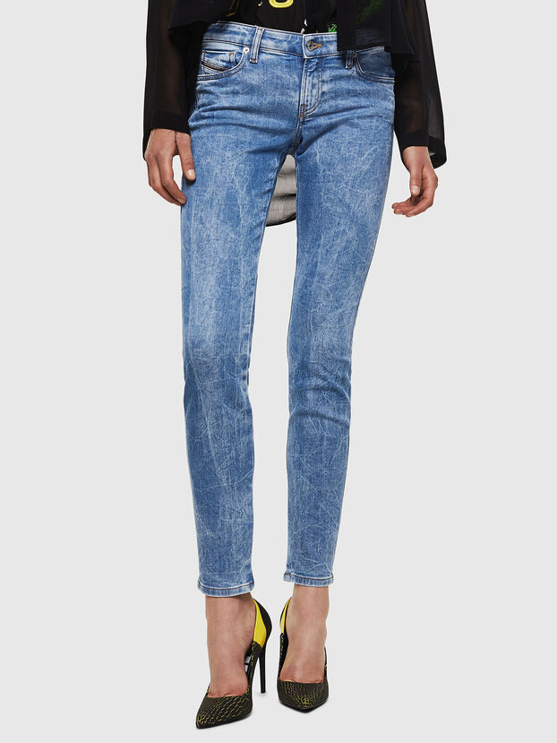 Gracey JoggJeans 0870P, Bleu Clair - Jeans