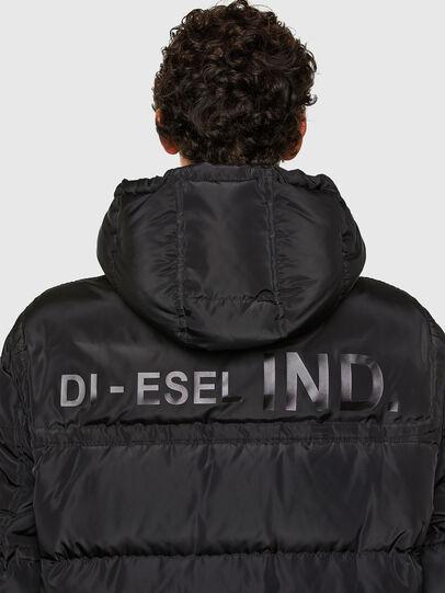 Diesel - W-RUSSELL-LONG, Noir - Vestes d'hiver - Image 4