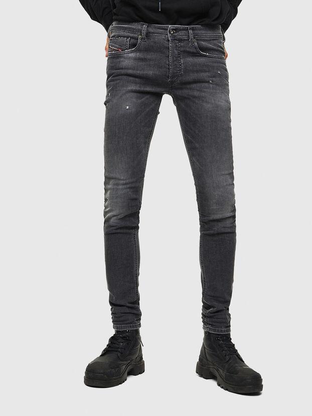 Sleenker 069JR, Noir/Gris foncé - Jeans