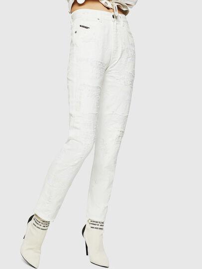 Diesel - D-Eiselle 069IJ, Blanc - Jeans - Image 1