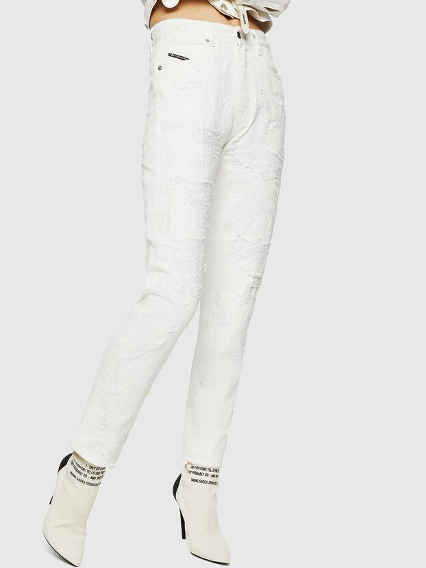 D-Eiselle 069IJ, Blanc - Jeans