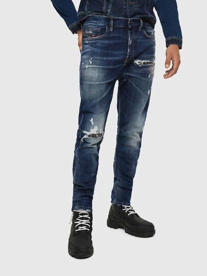 Diesel - D-Vider 0090G, Bleu Foncé - Jeans - Image 1