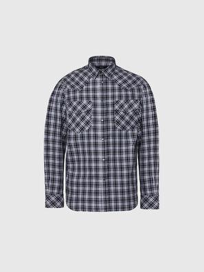 S-EAST-LONG-O, Noir/Blanc - Chemises