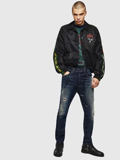 Diesel - D-Eetar 0890W, Bleu Foncé - Jeans - Image 7