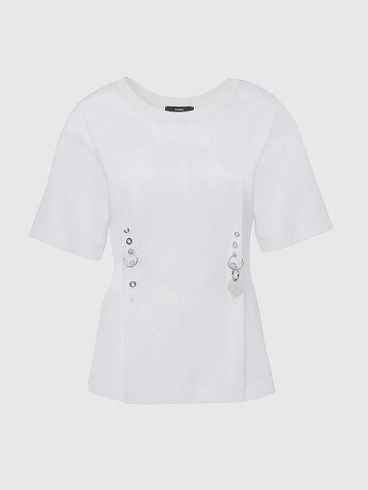 Diesel - T-SHEELA, Blanc - T-Shirts - Image 1