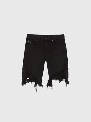 D-KRASY, Noir/Gris foncé - Shorts
